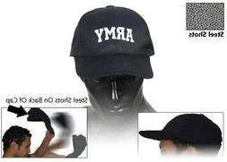 ARMY Self Defense Baseball Hat Cap Low Profile Weighted Styl