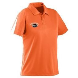 Augusta Sportswear Ladies Pique Polo Shirt, ORANGE/WHITE, X-