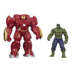 Marvel Avengers Age of Ultron Hulk and Marvel's Hulk Buster