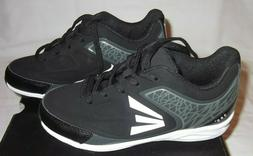 EASTON B24359 BLACK/CHARCOAL 360 YOUTH BASEBALL CLEATS NEW S