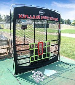 JUGS SPORTS Men's Backyard Bullpen Package for Baseball Scre