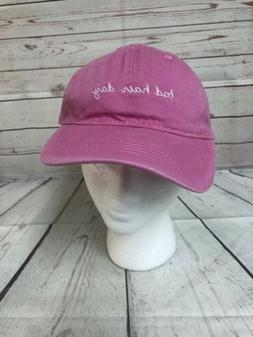 Bag Hair Day Womens Embroidered Baseball Hat Cap New Boutiqu
