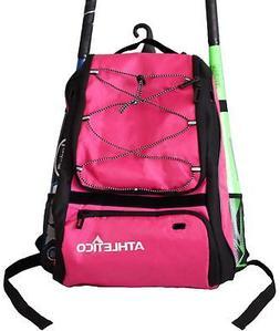 Athletico Baseball Bag - Backpack for Baseball, T-Ball & Sof