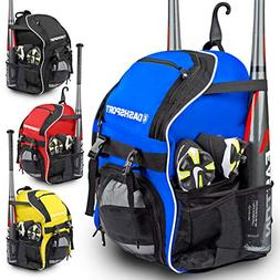 DashSport Baseball Bag Softball Backpack Bat Bag for Youth a