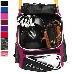 brand new 40031 3c44e Athletico Baseball Bat Bag - Backpack Ba.