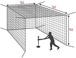 10' Baseball Batting Cage Net
