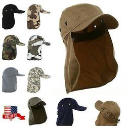 baseball cap camping hiking fishing ear flap