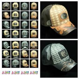 Western Cowboy Style Baseball Cap Classic Hat Mesh Trucker S