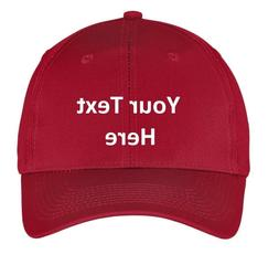 Baseball cap hat Custom Embroidery  Embroidered