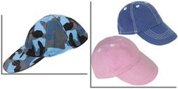"""Baseball Cap Hat Pink,Blue or Camo 18"""" Doll Clothes Fit Amer"""