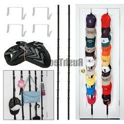 Baseball Cap Hat Rack Wall Door Hanger Holder Storage Organi