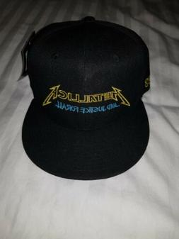 baseball cap justice for all brim design