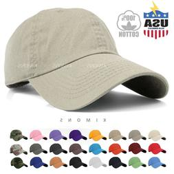 Baseball Cap Cotton Solid Plain men women Ball Hat Dad Hat P
