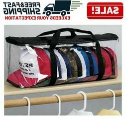baseball cap storage bag hat holder zipper
