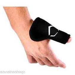 EvoShield Baseball Catcher's Hourglass Thumb Guard Black - S