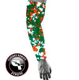 Baseball Sports Compression Arm Sleeve  - Miami Hurricanes D