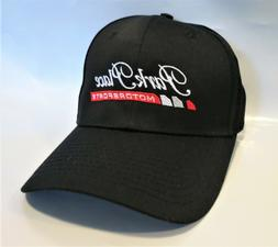 Park Place Motorsports Baseball Hat/Cap, Black, Embroidered,