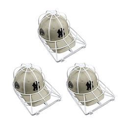Baseball Hat Washer,3pcs Cap Washer Frame/Washing Cage,White