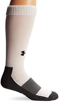 Under Armour Men's Baseball Over-the-Calf Socks , White, X-L
