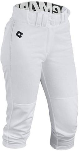 DeMarini Women's Baseball Performance Pants - White