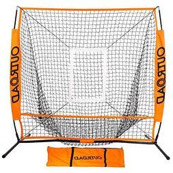 Baseball Practice Net Batting Pitching Hitting Softball Thro
