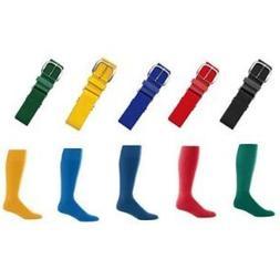 Joe's USA - Baseball Socks & Belt Combo All Colors & Sizes