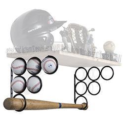 Wallniture Baseball Softball Bat Rack - Sports Accessories -
