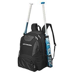 Worth Baseball/Softball Equipment and Bat Backpack Bag, Scar