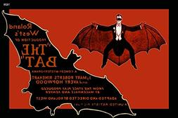 The BAT man YES 1926 Movie Poster