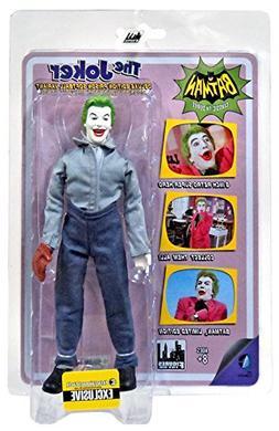 Batman Classic TV Series 8 Inch Action Figure: Joker In Soft