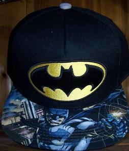 BATMAN Men's baseball cap hat with adjustable snap back snap