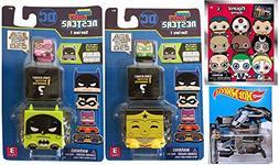 Batman Hot Wheels The Bat DC Comics + Kawaii Cubes Stackable