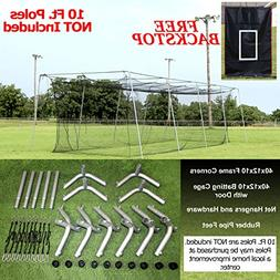 Select #24 Batting Cage & Frame Corners
