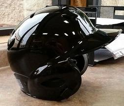 Batting Helmet NOCSAE Cert. Baseball/Softball NEW BLACK