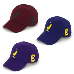 Polo Ralph Lauren Big Pony Baseball Cap Hat -- 3 colors --