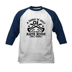 CafePress - 10th Birthday Kids Baseball Jersey - Kids Cotton