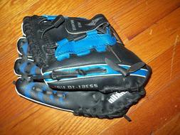 "Franklin Black & Blue Baseball Glove 10 1/2"" 22361 Right Han"