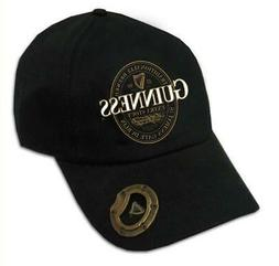 Black Baseball Cap Guinness  Logo with Extra Stout Label Bot