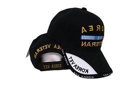 Black Korea Korean War Veteran Shadow Baseball Hat Cap 3D Em