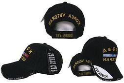 Black Korea Korean War Veteran Vet Shadow Baseball Hat Cap 3