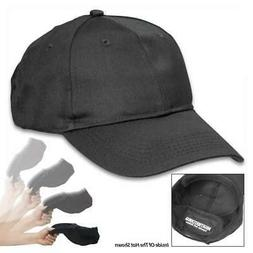 Black Self Defense Baseball Hat Cap Low Profile Weighted Sty
