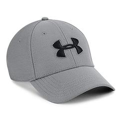 Under Armour Men's Blitzing 3.0 Cap, Graphite /Black, Small/