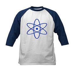 CafePress - Bohr's Model of the Atom Kids Baseball Jersey -