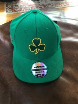 Boston Police Shamrock A Flex Baseball Cap Hat. S/M NWT