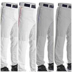 Boy's Baseball Pants Alleson Youth White Gray Scarlet Navy B