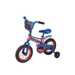 "12"" Boys Bike with Webbed Frame - Disney Marvel Spiderman"