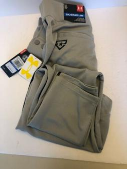 Under Armour Boys Gray UA Clean Up Open Bottom Relaxed Fit B