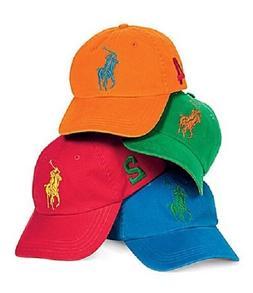 BRAND NEW Ralph Lauren Big Pony Baseball Cap - CHOOSE YOUR C