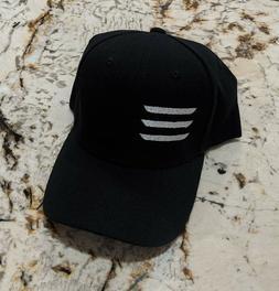 Brand New TESLA Model 3 Embroidered Logo Hat Cap Black