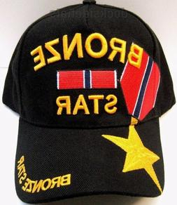 BRONZE STAR VETERAN Cap/Hat U.S.Military New Black*Free Ship